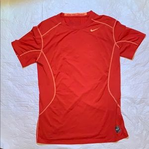 Men's Nike pro combat fitted athletic shirt